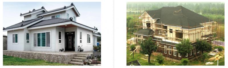 轻钢别墅,轻钢结构经久耐用